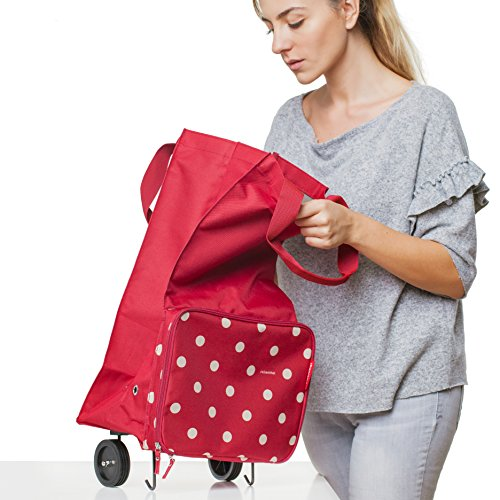 Reisenthel Foldable Shopping Trolley - Rings