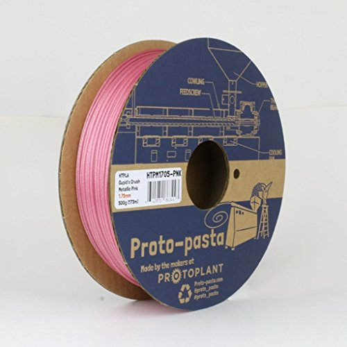 Proto-Pasta Metallic HTPLA Cupid's Crush Pink 3D Printing Filament 1.75mm 500g