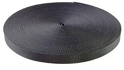 Black Heavy Nylon Webbing