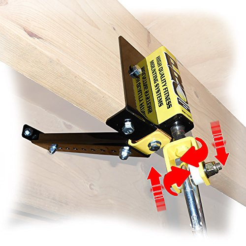 PRO Mountings Rafter Mount Heavy Duty with Brace for Heavy Bags from 120 LBS to 200 LBS