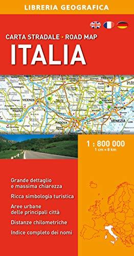 Italia 1:800.000. Carta stradale