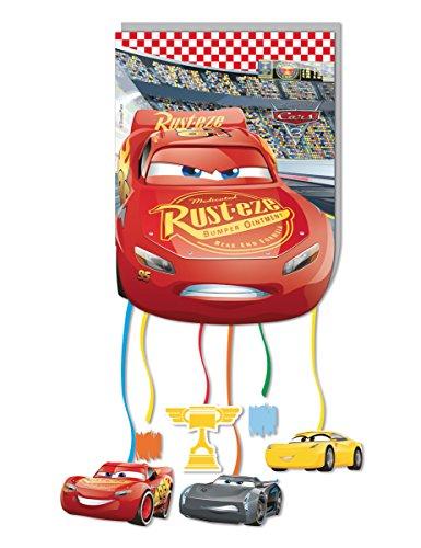 Procos- Piñata 30cm Cars 3, Multicolor (5PR87933)