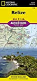 Belize (National Geographic Adventure Map, 3106)