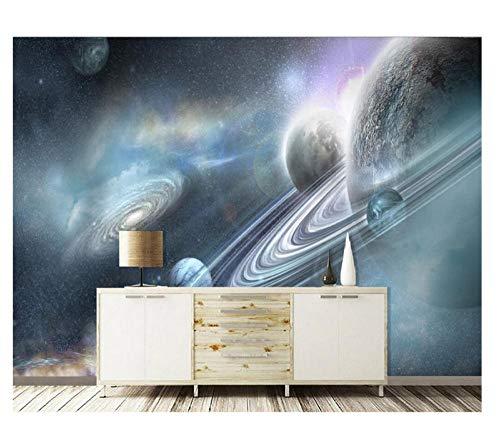 Fotobehang Planeet Muursticker Schilderij 3D Slaapkamer Woonkamer Huis Tv Achtergrond Decoratie Zijden Doek Decals Art Bank Achtergrond (W)250X(H)175cm