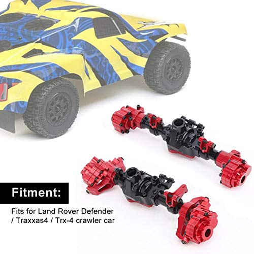 Jopwkuin Rc Car Axle 100% Compatible Front Axle Directly Replace Old Parts for Crawler Car for Improving the Control Performance of Tracked Vehicles