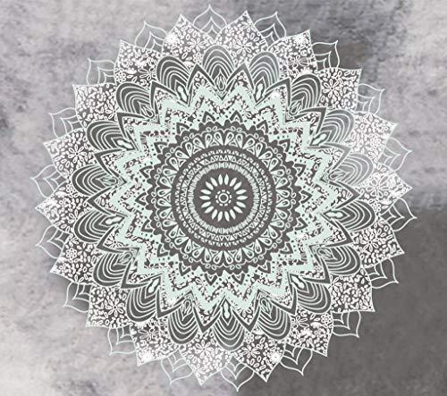 Tapiz de mandala indio para colgar en la pared, manta de tela, cojín para el hogar, decoración de fondo, tapiz de tela A5 130X150CM