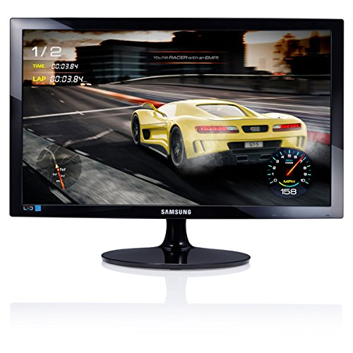 Samsung 330 Series 24 inch FHD 1920x1080 Desktop Monitor for Business, 1 ms response, HDMI, VGA, 3-Year Warranty (S24D330H)