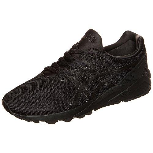 ASICS Gel-Kayano Trainer Evo H6d0n-9090-10, Unisex-Erwachsene Sneakers, Schwarz (Black/Black 9090), 44 EU