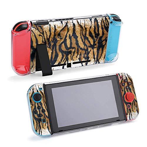 Hermosa textura de piel de tigre con textura colorida compatible con consola...