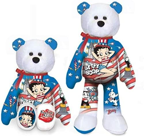 Entrega gratuita y rápida disponible. Betty Boop Boop Boop Patriotic Betty Bear   007 by Gallery Treasures Collection  bienvenido a elegir