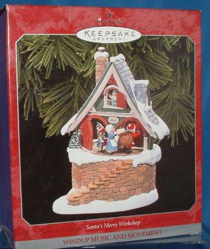 Hallmark Keepsake Ornament - Santa's Merry Workshop