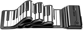 Portable Digital Keyboard Piano Multi-function Hand-Rolled Piano Keyboard Midi Keyboard 88 Key Smart Piano (Color : 88 key)