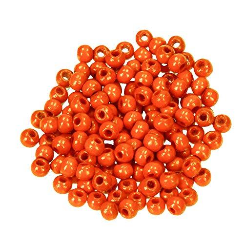 efco Holzperlen, orange, 8 mm