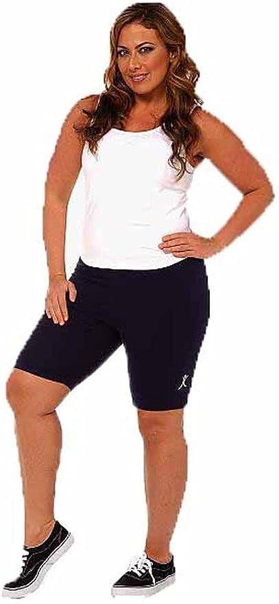 A Big Attitude Plus Size Bike Shorts Charcoal, 1XL