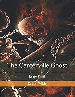 The Canterville Ghost: large Print