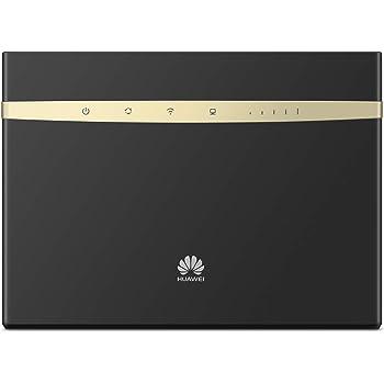 Huawei B525s-23a noir Routeur 4G+ LTE LTE-A Catégorie 6 Gigabit WiFi AC 2 x SMA pour antenne externe (Noir)