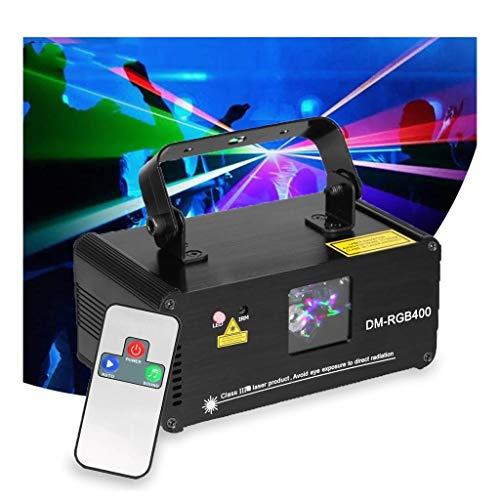 TH-JJZX Efecto de iluminación de Etapa RGB Remoto DMX Disco DJ Party Club Holiday Navidad Luces de Boda