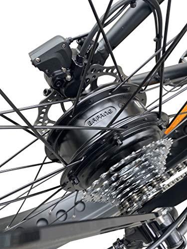 "51dSV 42GiL - GermanXia® Black Sinner 26"" Zoll E-Fatbike Beachcruiser 13/17,5Ah, E-Bike, 250W, Hydraulik-Scheibenbremse"