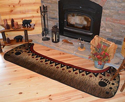 Alfombra Empire Cabin Canoe Bear Runner Area Alfombra 2'8' W x 7'7' L