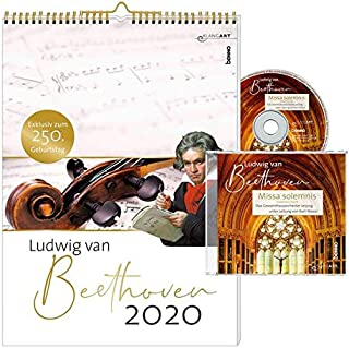 Ludwig van Beethoven 2020/m. CD