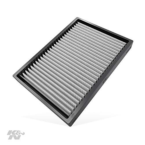 K&N Premium Cabin Air Filter: High Performance, Washable, Lasts for the Life of your Vehicle:  Designed For Select 2011-2018 Dodge/Chrysler (Challenger, Charger, 300, 300C) Vehicle Models, VF2027