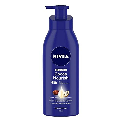 Nivea Cocoa Nourish Body Lotion, 400ml