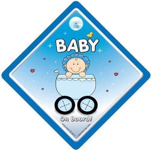 Baby on Board Motif \