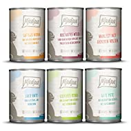 MjAMjAM Natural Wet Cat Food, MIX PACK 3 with Vension & Rabbit, Turkey, Duck & Poultry, Hearts, Chic...