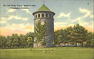 The Old Water Tower, Rockford Park Wilmington, Delaware Original Vintage Postcard