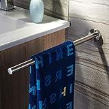 ZUNTO Barra de la toalla Barra de la toalla de los 40CM Barra de la toalla del baño Barra de toalla Barra de acero...