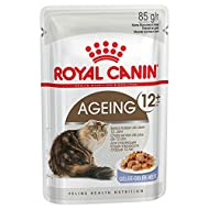 Royal Canin Ageing +12 Cat Food Jelly Pouch 12x85g (1.02kg)
