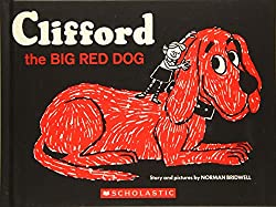 Image: Clifford the Big Red Dog: Vintage Hardcover Edition | Hardcover – Picture Book: 48 pages | by Norman Bridwell (Author). Publisher : Scholastic US (July 5, 2010)
