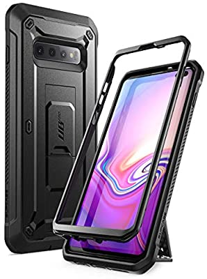 SUPCASE Unicorn Beetle Pro Series Designed for Samsung Galaxy S10 Plus Case (2019 Release) Full-Body Dual Layer Rugged with Holster & Kickstand Without Built-in Screen Protector