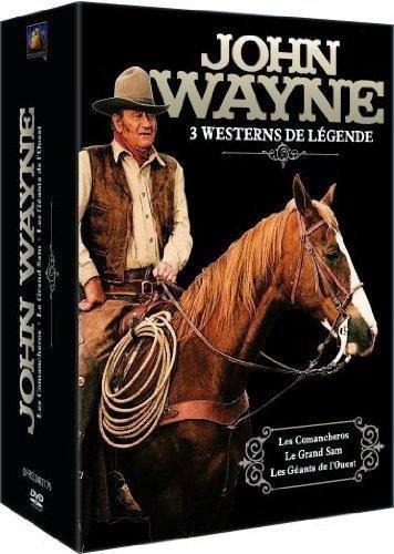 John Wayne - Coffret 3 films : Le Grand Sam + Comancheros + Les géants de l'Ouest [Francia] [DVD]