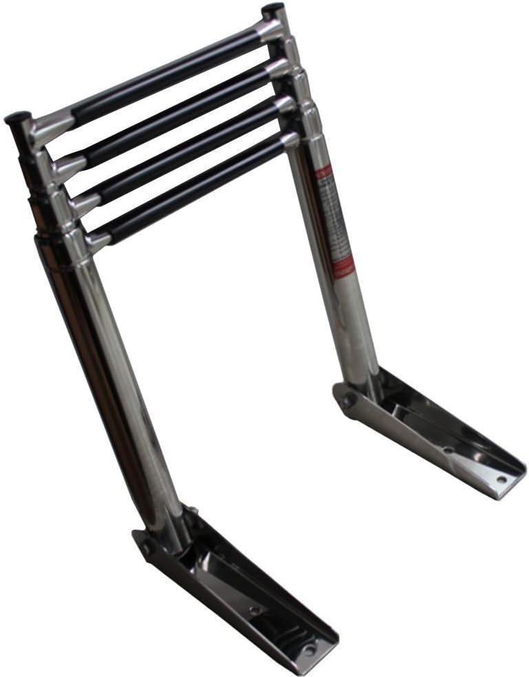 YLKCU Boat Ladder 4 store Multi-Purpose favorite Step Telescoping -