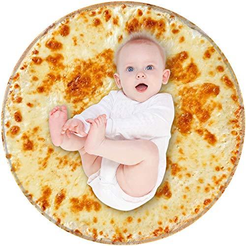 BROSHAN Funny Baby Wrap Blanket, Cute Food Burrito Soft Plush Swaddle Blankets for Newborn Infant...