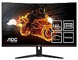AOC Gaming CQ32G1 - 32 Zoll QHD Curved Monitor, 144 Hz, 1ms, FreeSync Premium (2560x1440, HDMI, DisplayPort) schwarz