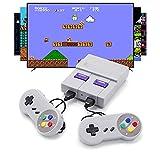 Mini Retro Game Console, HDMI HD Built-in 821 Classic NES Video Games with 2 SNES Joysticks, Mini Console for Family TV