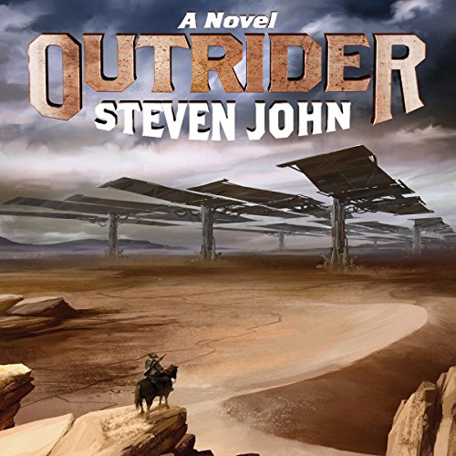 Outrider audiobook cover art