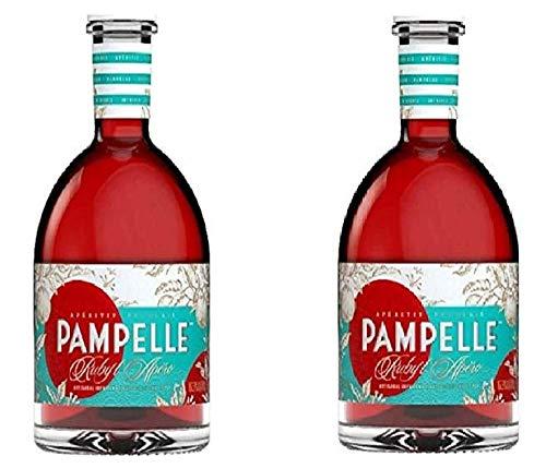 Pampelle Ruby l\'Apéro französischer Aperitif(2 x 0.7 l)