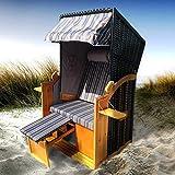 """Ein Hauch von Strandurlaub bei Ihnen Zuhause - mit unserem BRAST 2-Sitzer Strandkorb Nordsee """"Helgoland"""" in 2 Designs zur Auswahl werden Sie den Sommer noch mehr genießen können! Das Besondere: Unser BRAST 2-Sitzer-Strandkorb wurde für den kleineren ..."""