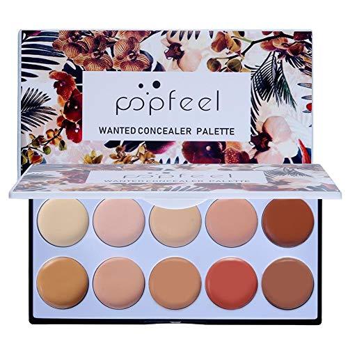 UEB Anti-Cernes Et Correcteurs Popfeel Professional Makeup Palette Poudre Correcteur Contour 10 Couleurs
