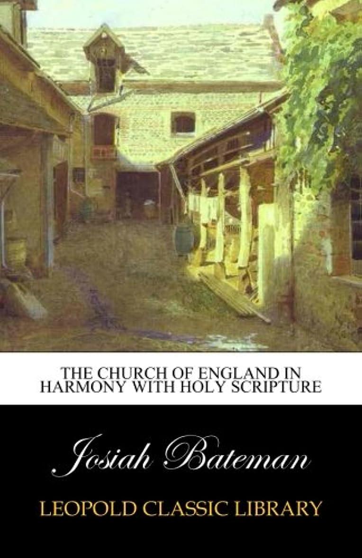 グリーンバックラショナル好意的The Church of England in harmony with holy Scripture