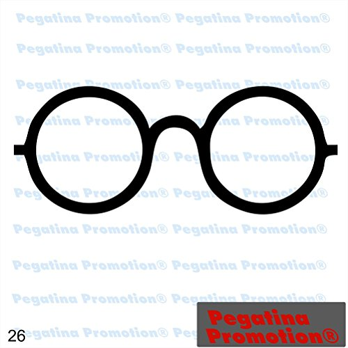 Pegatina Promotion Piktogramm Typ 26 Icon Symbol Zeichen Brille Optiker Aufkleber Sticker ca.15cm Aufkleber mit Verklebehilfe Hintergrund geplottet