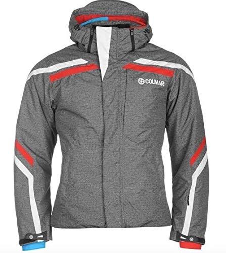 Colmar Herren Ski Winter Snowboard Jacke Grau Rot Größe M 48