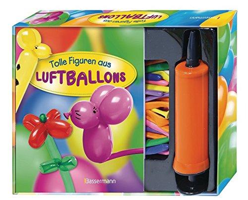 Tolle Figuren aus Luftballons-Set: Buch mit 30 Modellierballons und Pumpe zum Aufblasen