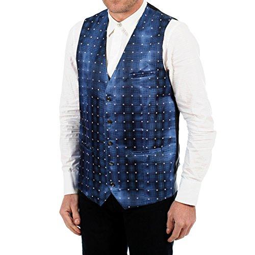 Jobeline Herren Kellner Weste Rito, Gastronomie, Service in blau, Größe:46