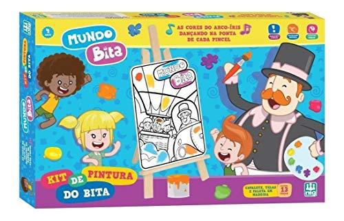 Kit De Pintura, Mundo Bita, Nig Brinquedos
