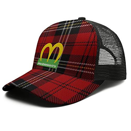 Coming-to-America-Movie-McDowell's-2021- Girls Fedora Outdoor Caps ColorName Breathable Hat