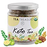 TeaTreasure Keto Tea for Weight Loss and Glowing Skin - 100 gm